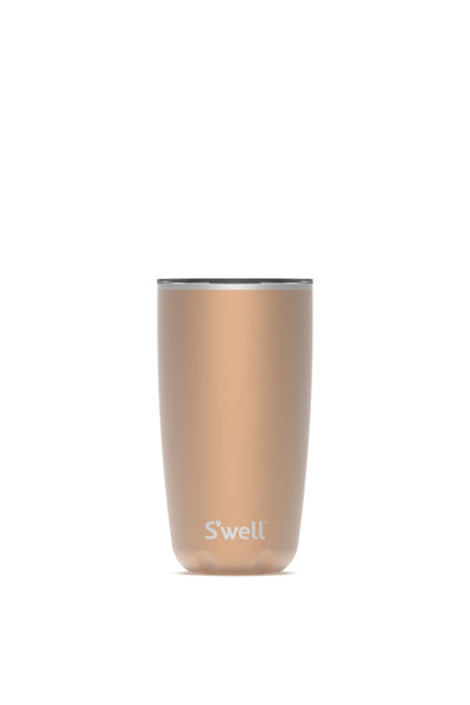 Pyrite Tumbler With Lid Pyrite