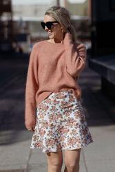 Fay Skirt Blomstret