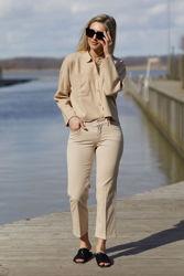 Tomine Cardigan Camel melange