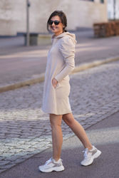 Lula dress Beige