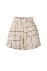 Laval shorts Parchment