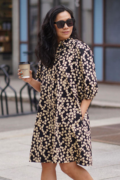 Alula Shirt Dress Blomstret