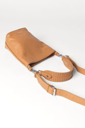 Grainy Dahlia Bag Lysebrun