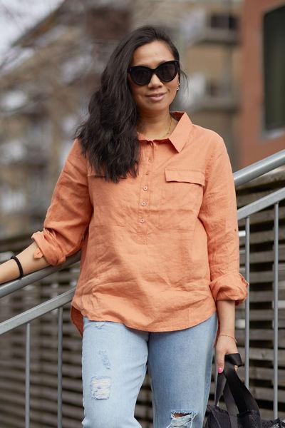 Libby Shirt Sandstone
