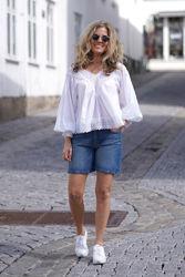 Silla Denim Shorts Jeansblå