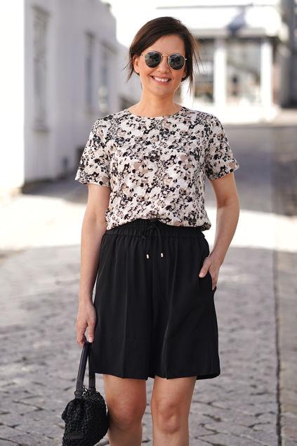 Alma t-shirt Natural Flower Fi