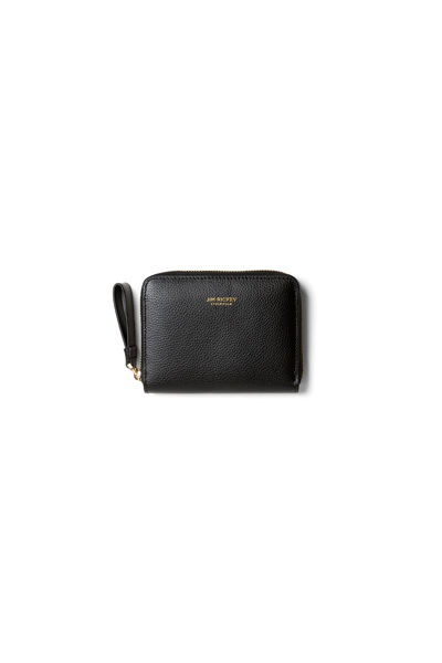 Small Zip Purse Grained Leather Sort