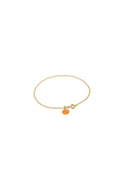 Ball Chain Bracelet Apricot