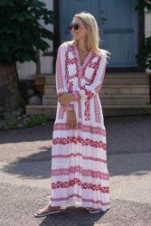 Savannah dress Rød