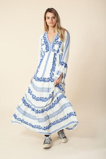 Savannah dress Blå