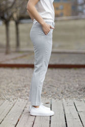 Kylie Crop 721 Grey Melange