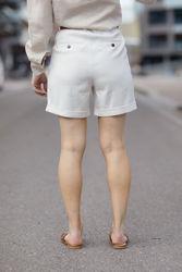 Malou Shorts 765 Off-white Summer