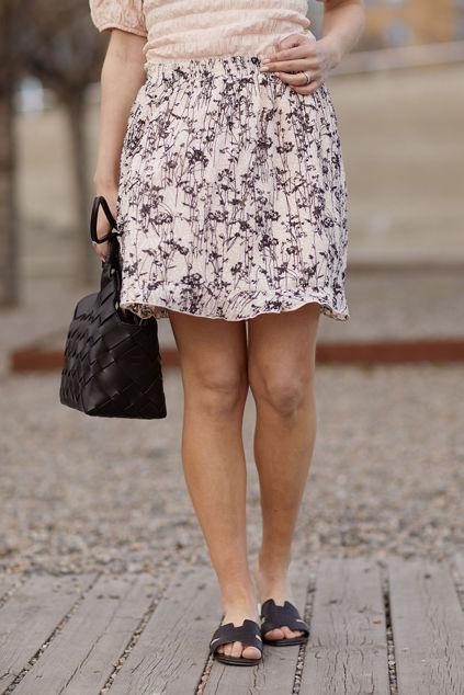 Josetta Skirt Cream Tan