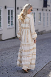 Savannah dress Gull