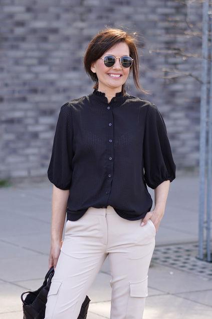 Tara SS Shirt Sort