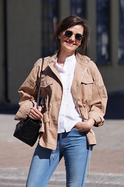 Yuma Jacket Beige
