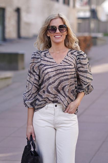 Lilly Blouse Humus