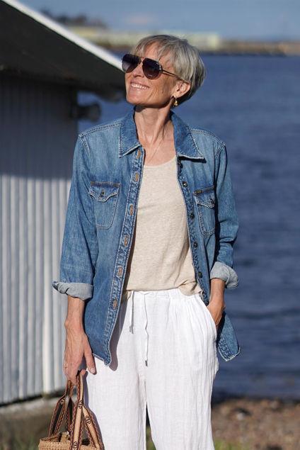 Fenz Jeansblå
