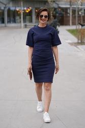 Izly J Dress Light Ink