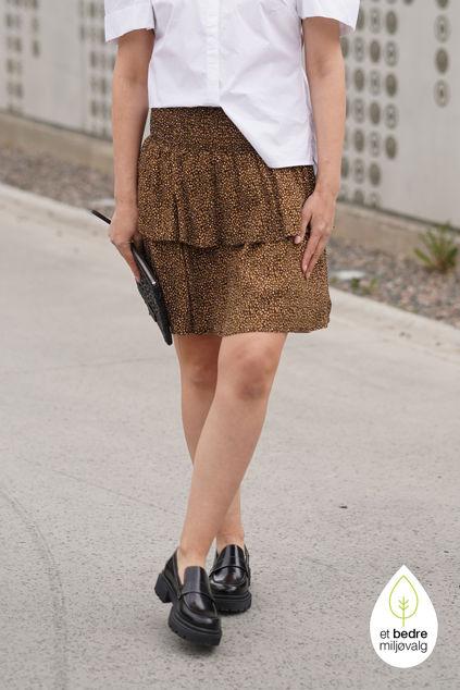Lif Skirt Brown Mini Leo