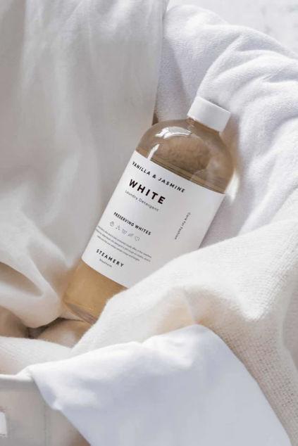White Laundry Detergent Vanilla & Jasmine