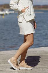 Hermine skirt Cream