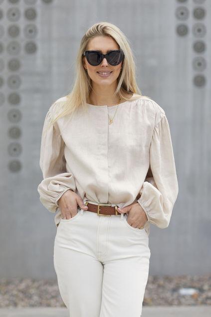 Alice linen shirt Beige