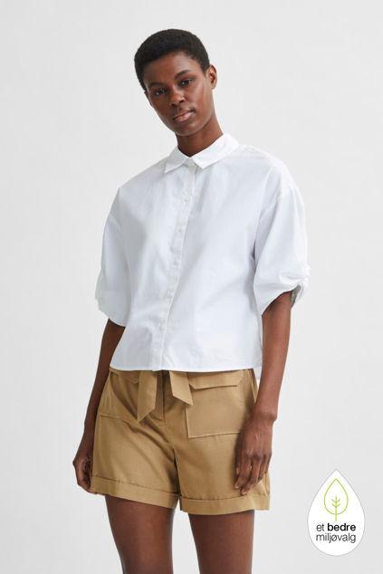 Lilo 2/4 Shirt Hvit