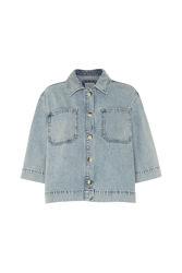 Lilah denim shirt Light blue wash