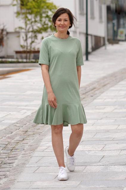 Payton dress Green melange