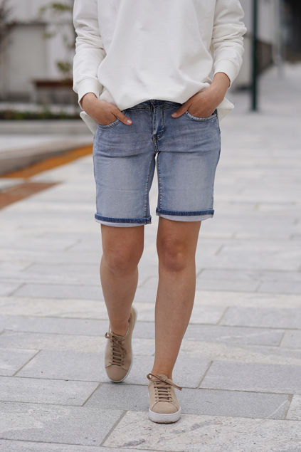 Jeans Relax Shorts Jog Jeansblå