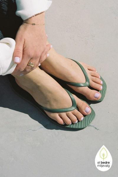 Tapered Flip Flop Grønn