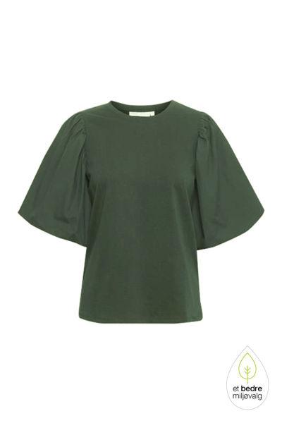 Ume T-shirt Green Olive