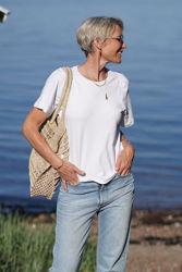 Imalea T-Shirt Hvit