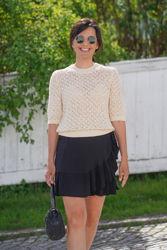 Kimmy skirt Sort