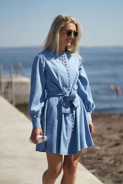 Zena denim dress Blue Denim