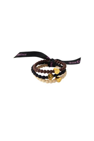Hair Ribbon 3-Pack Sort/Brun/Beige