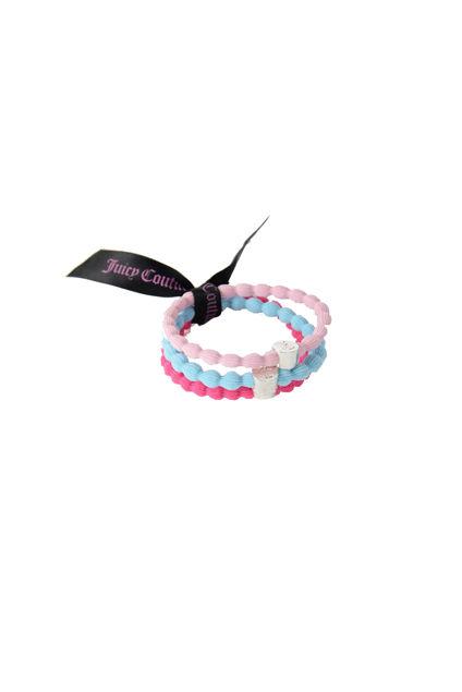 Hair Ribbon 3-Pack Rosa/Lyserosa/Turkis