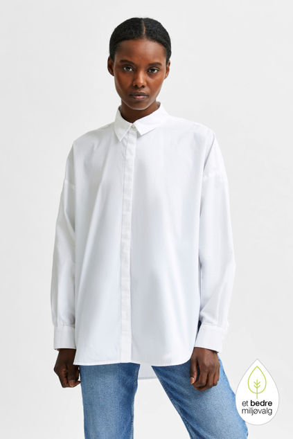Hema LS Shirt Hvit