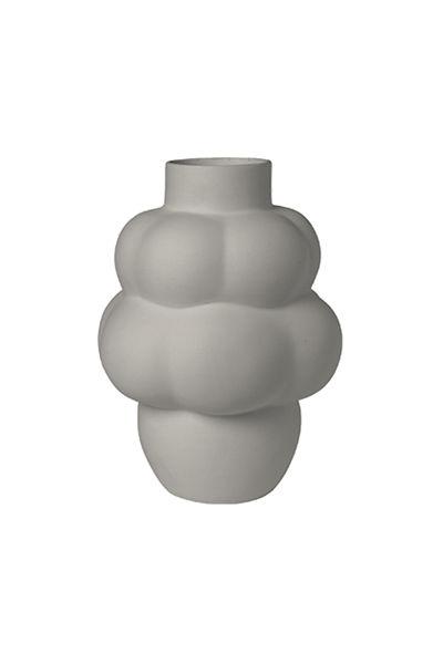 Ceramic Balloon Vase Sanded Grey