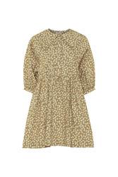 Meadow dress Brown print