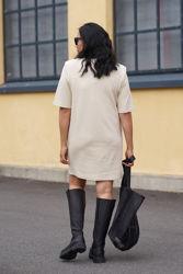 Jolie dress Eggshell
