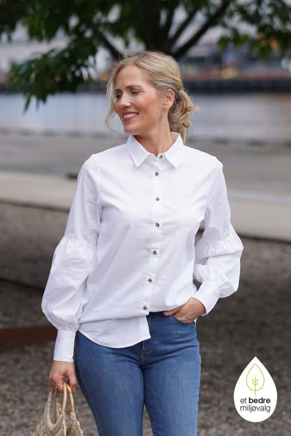 Tine shirt Hvit