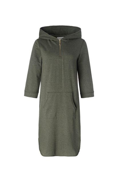 Babe hood dress Army