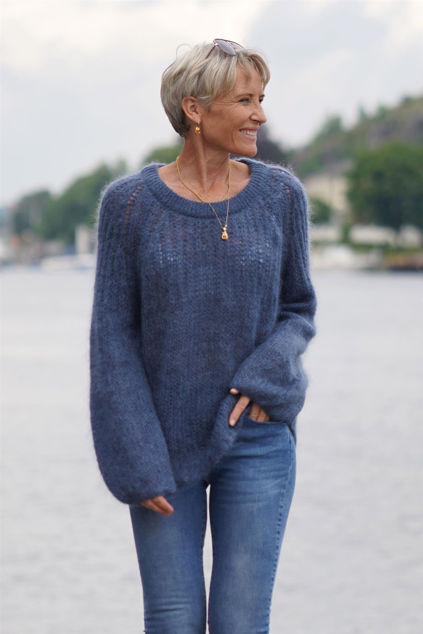 Adele Sweater Blue sea