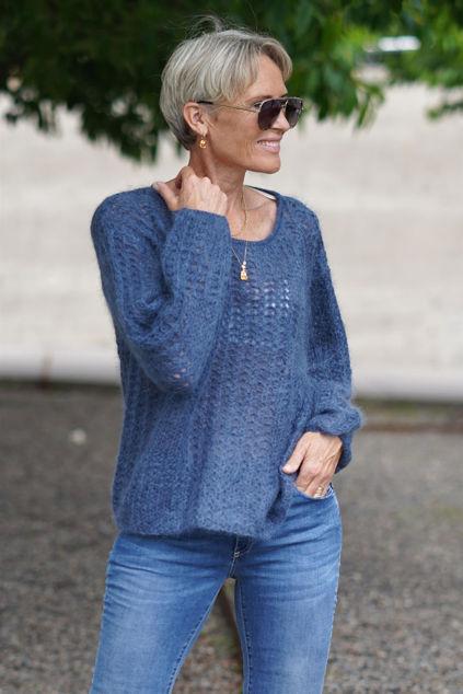 Alma Sweater Blue sea