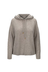 Frankie Hood Sweater Stone
