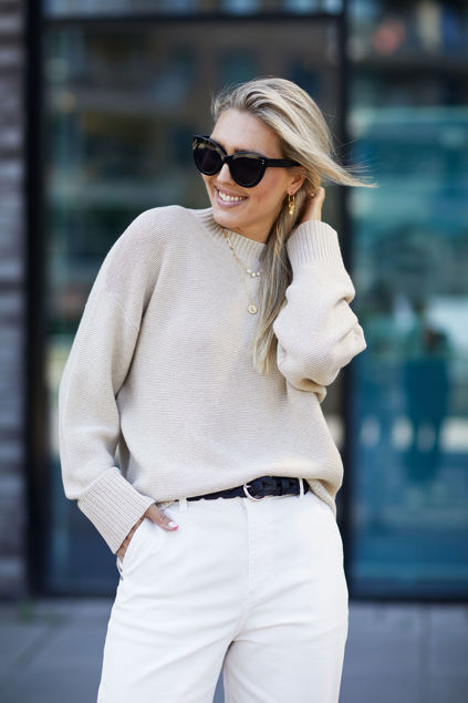 Jessie sweater Light beige