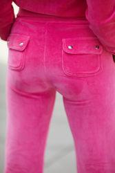 Cotton Rich Del Ray (Pocket Design) Pant Raspberry Rose