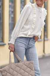 True Cable Knit Off-white